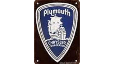 Antique Plymouth logo