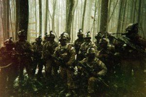Marines in snow